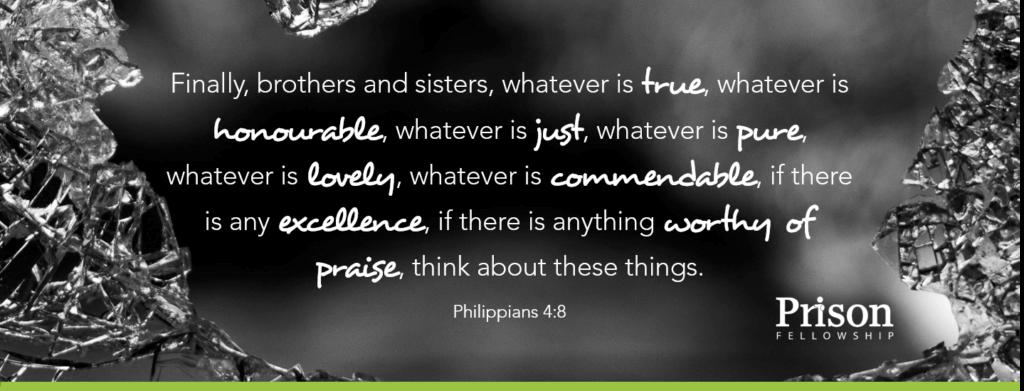 Philippians 4v8