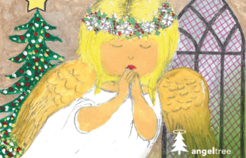Angel Tree Christmas Card 2020