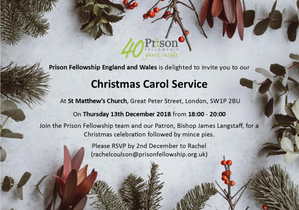 Carol Service Invite 2018