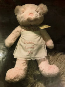 Pink Teddy gift for an Angel Tree child